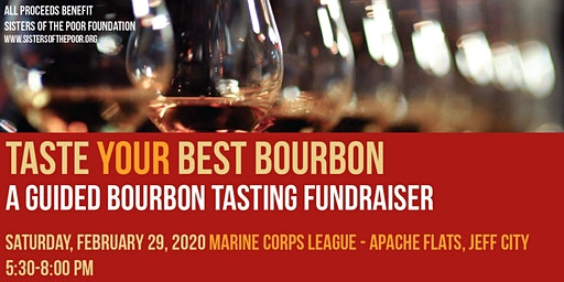 Taste Your Best Bourbon - A Guided Bourbon Tasting Fundraiser