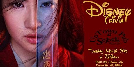 Disney Movie Trivia at Seibel's Restaurant & Uptown Pub tickets