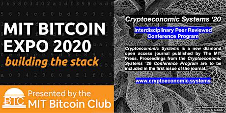 MIT Bitcoin Expo 2020 tickets