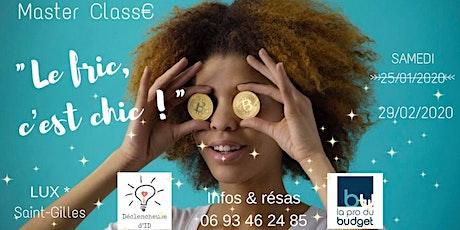 Masterclass : Équilibrez durablement votre relation à l'argent billets