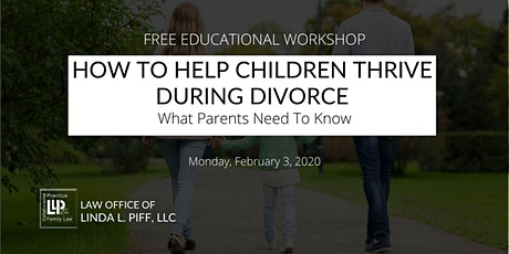 How To Help Children Thrive During Divorce: What Parents Need To Know tickets