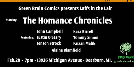 Laffs in the Lair Presents The Homance Chronicles