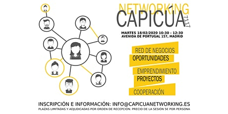Sesión de Networking en Madrid entradas