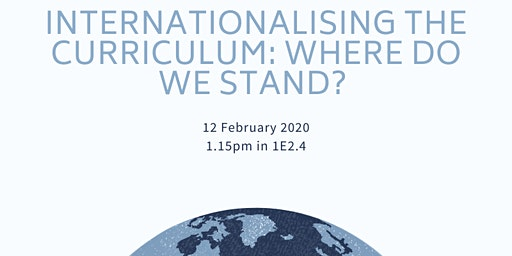 Internationalising the curriculum: where do we stand?
