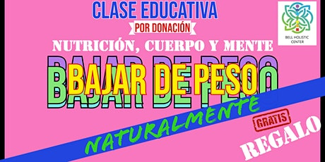 Holistic Weight loss Class (Spanish) tickets