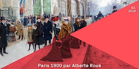 Conférence | Lezing : Paris 1900 - Alberte Roué tickets