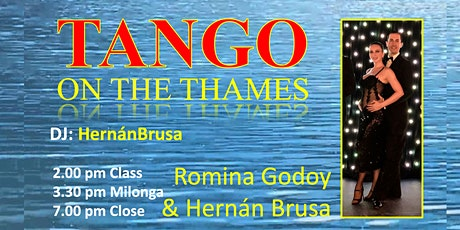 Tango on the Thames with Romina & Hernán tickets
