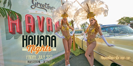 Havana Nights Detroit 2020 tickets