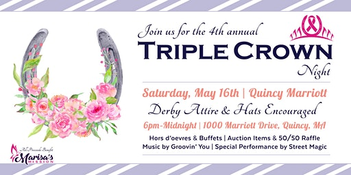 4th Annual Triple Crown Night Event