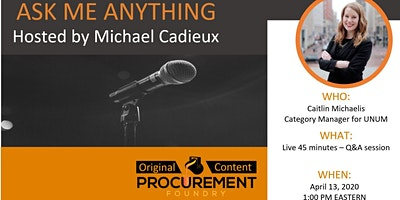 AMA-Caitlin Michaelis-New Generation Up & Rising stars of Procurement