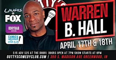 Gutty's Comedy Club: Warren B. Hall