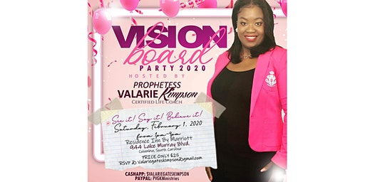 Words of Affirmation Vision Party