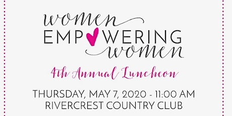4th Annual Women Empowering Women benefitting Justin's Pace tickets