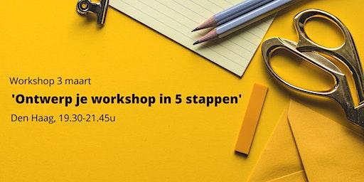 Workshop 'Ontwerp je workshop in 5 stappen'