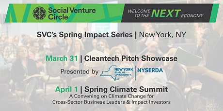 SVC Spring Impact Series: Cleantech Pitch Showcase Presented by NYSERDA tickets