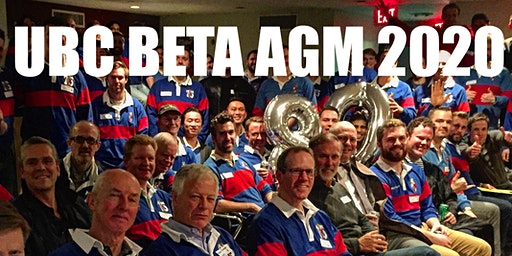 UBC Beta : AGM 2020 @ Glitch Bar & Games Room