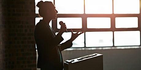 Formation à la prise de parole en public billets