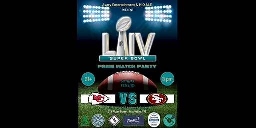 Super Bowl 54 Watch Party (FREE)