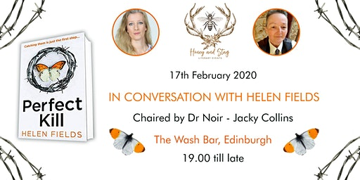 In Conversation with Helen Fields - Crime Fiction - Edinburgh