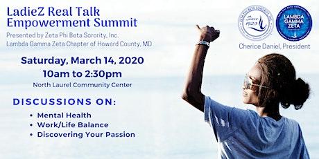 LadieZ Real Talk Empowerment Summit tickets