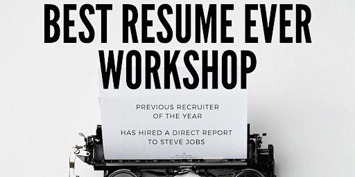 Best Resume Ever Workshop