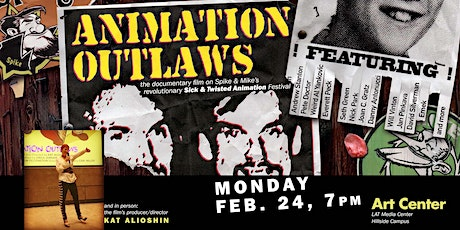 Animation Outlaws Screening with Kat Alioshin tickets