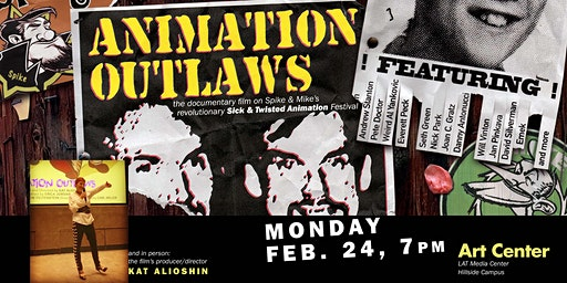 Animation Outlaws Screening with Kat Alioshin