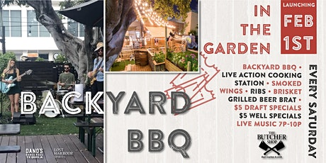 Live Music & Backyard BBQ in the Garden at The Butcher Shop tickets