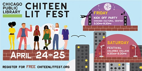 2020 ChiTeen Lit Fest: April 24-25 tickets