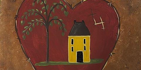 Prim Heart Sip'n'Paint Painting Class