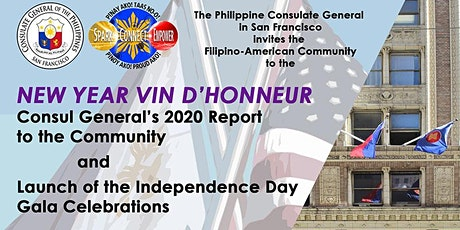 New Year's Vin d'honneur, Consul General's 2020 Report to the Community, and Launch of the Independence Day Gala Celebrations tickets