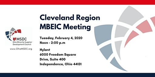 MBEIC Cleveland March 2020 Meeting