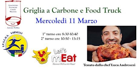 Griglia a Carbone e Food Truck biglietti