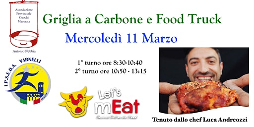 Griglia a Carbone e Food Truck