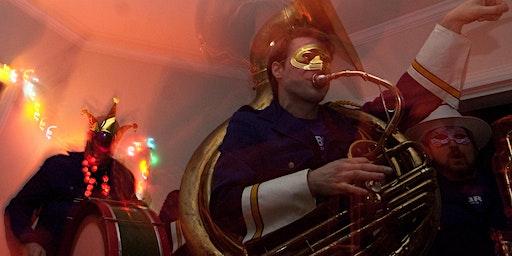 Elby Brass: Mardi Gras Masquerade Ball