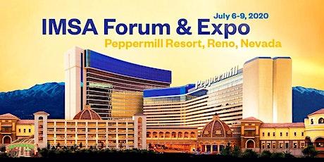 2020 IMSA Forum & Expo tickets