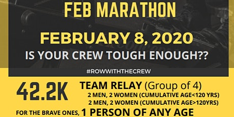 FIT February Marathon Row tickets