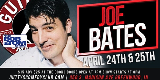 Gutty's Comedy Club: Joe Bates