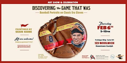 Art Show Featuring Baseball Portraits by Sean Kane