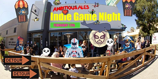 Ambitious Indie Game Night