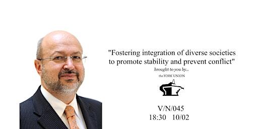 Lamberto Zannier: Fostering integration to promote peace