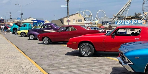 The 2020 Wildwood's Spring Boardwalk Classic Car Show