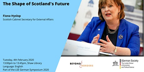 The Shape of Scotland's Future tickets
