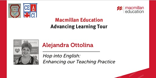 Macmillan Education - Advancing Learning Tour with Alejandra Ottolina