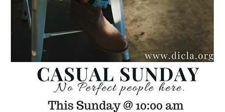 Casual Sunday Service tickets