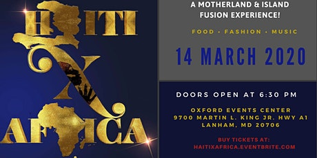 #HaitiXAfrica  tickets