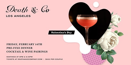 Death & Co Los Angeles Valentine's Day tickets