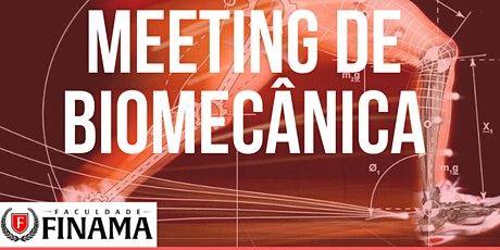 Meeting de Biomecânica ingressos