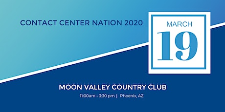 Contact Center Nation 2020 tickets