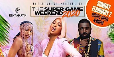 Super Game Sunday Watch Party w/Shenseea, Inhalemee & Afro B